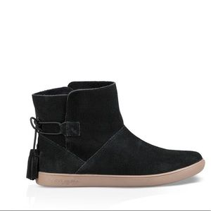 Ugg Booties Suede black sz:7 new women boots